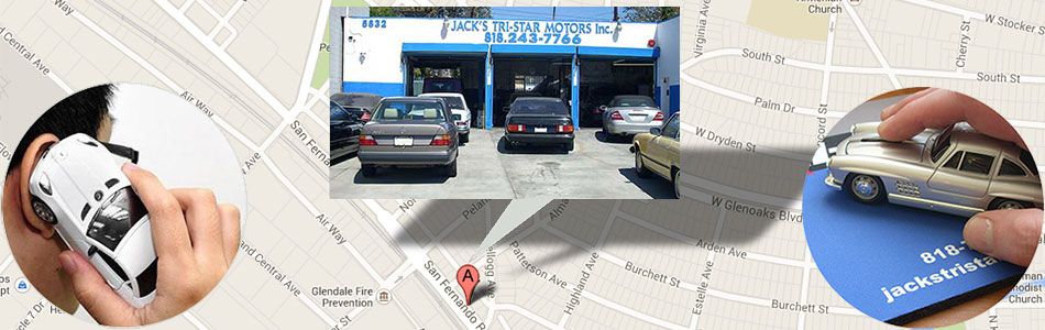 Contact Our Los Angeles Mercedes Benz Mechanics
