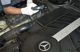 Mercedes Benz diagnostic test