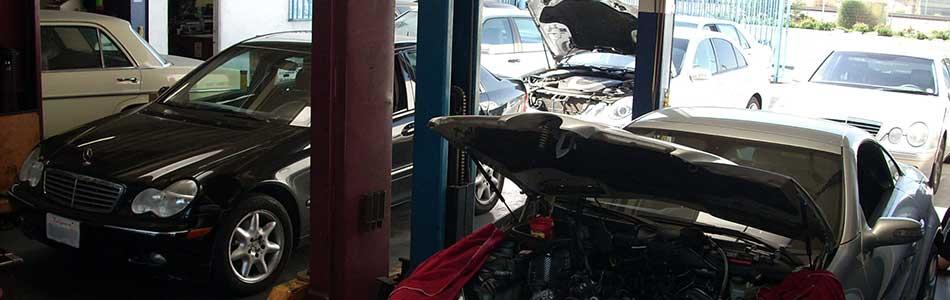 Mercedes Benz Service Maintenance in Los Angeles