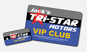 vip club package for mercedes owners from jacks tri-star motors