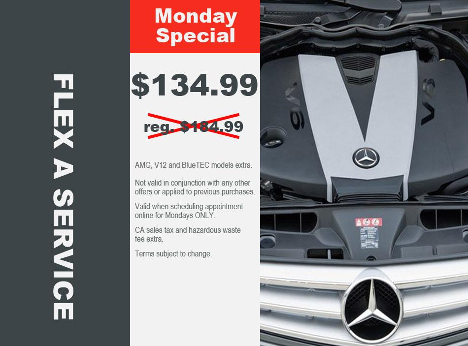 Mercedes Flex A Service