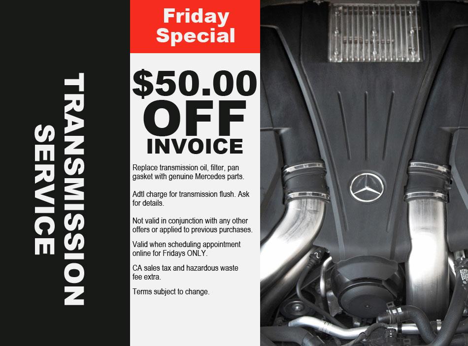 Mercedes Transmission Service